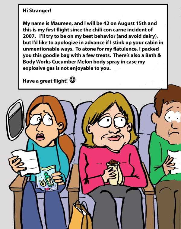 flight letter